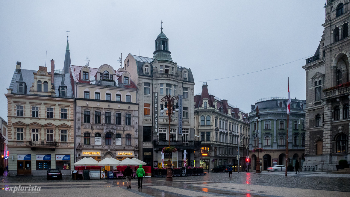 Torg i Liberec