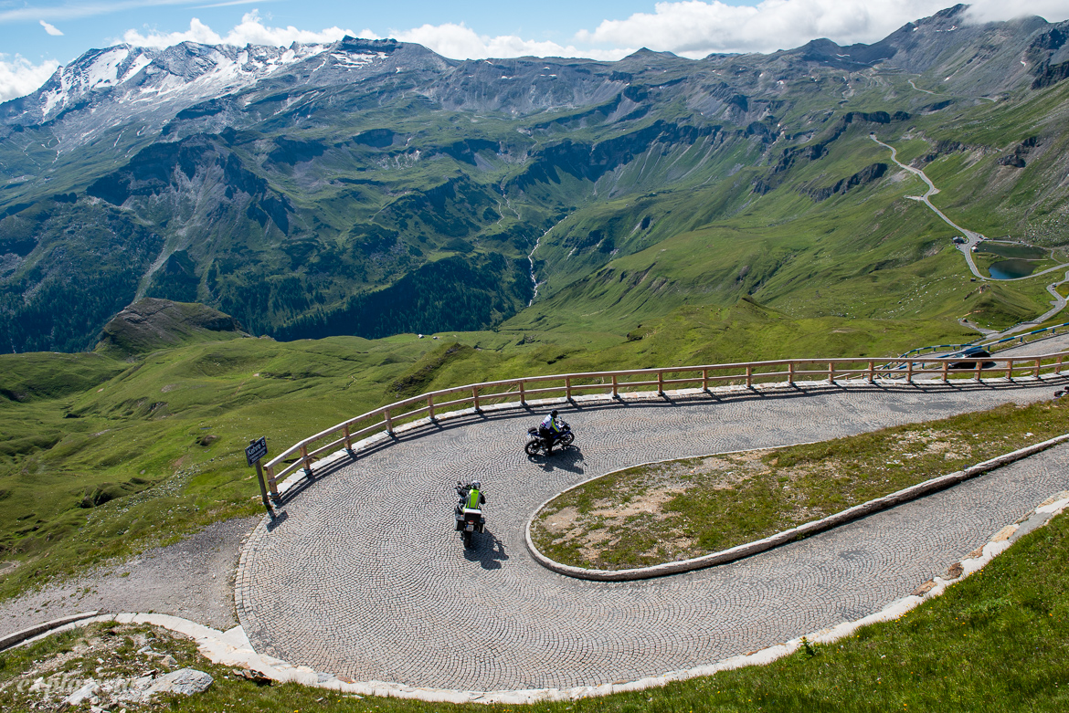 bikers point grossglockner