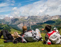 utsikt dolomiterna mcåkare