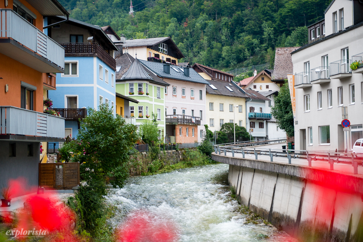 Ebensee fors i by