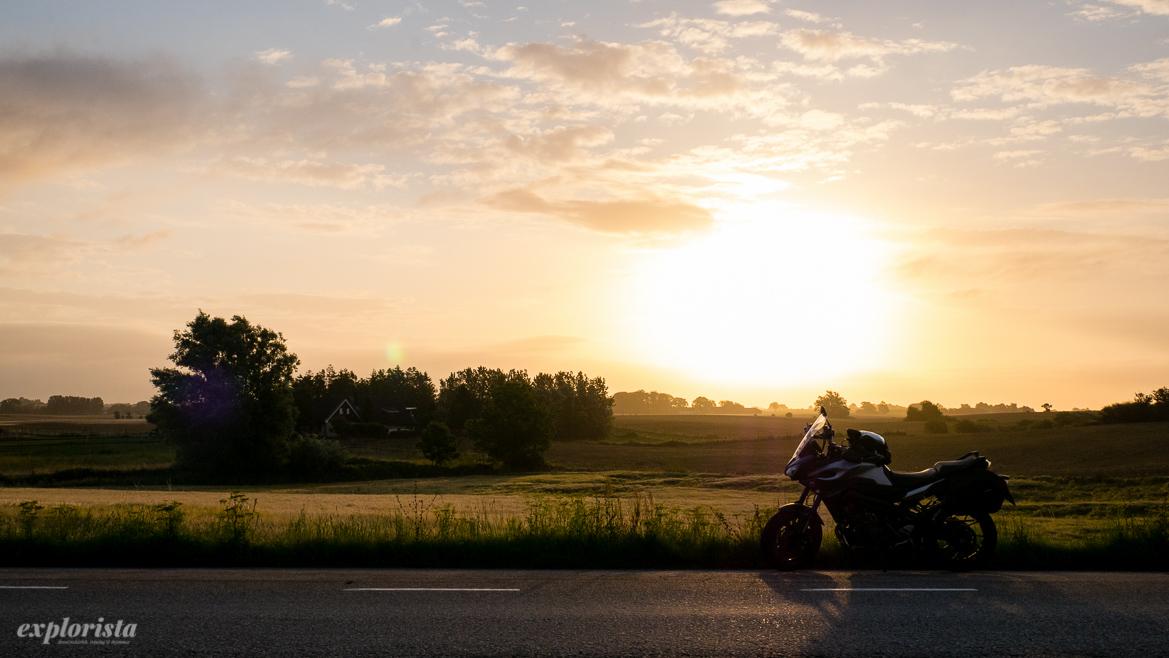 mc i soluppgången i skåne