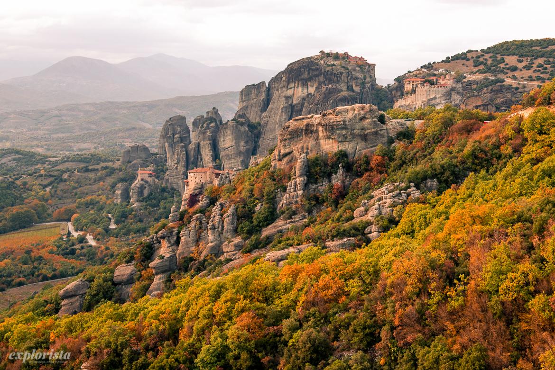 klostren i grekiska meteora