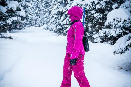 explorista i snön
