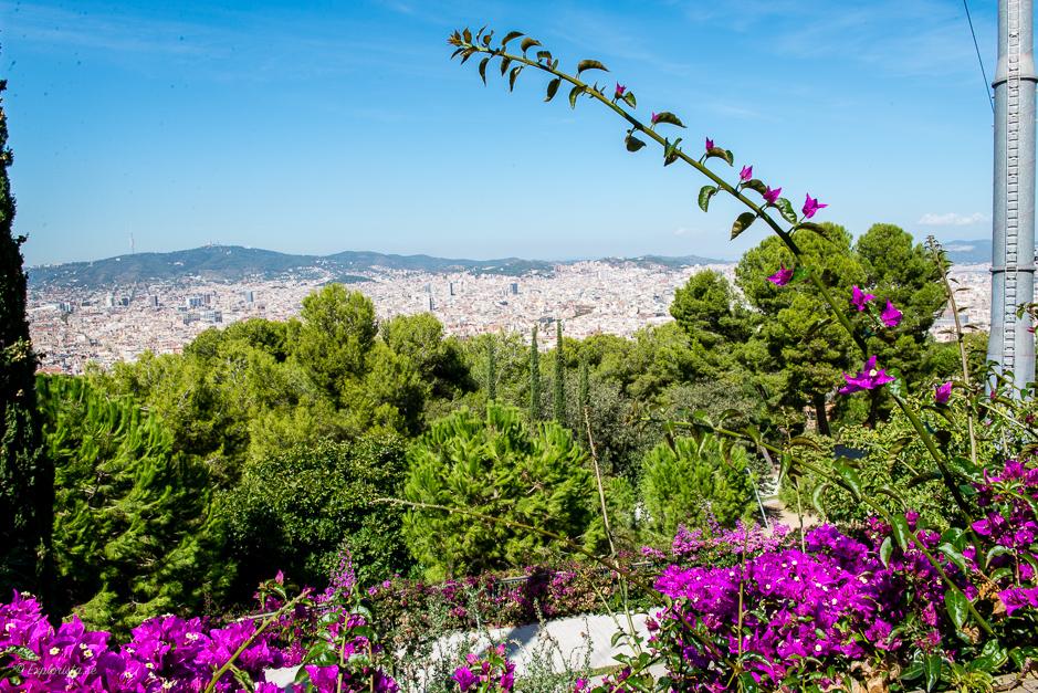 utsikt över barcelona