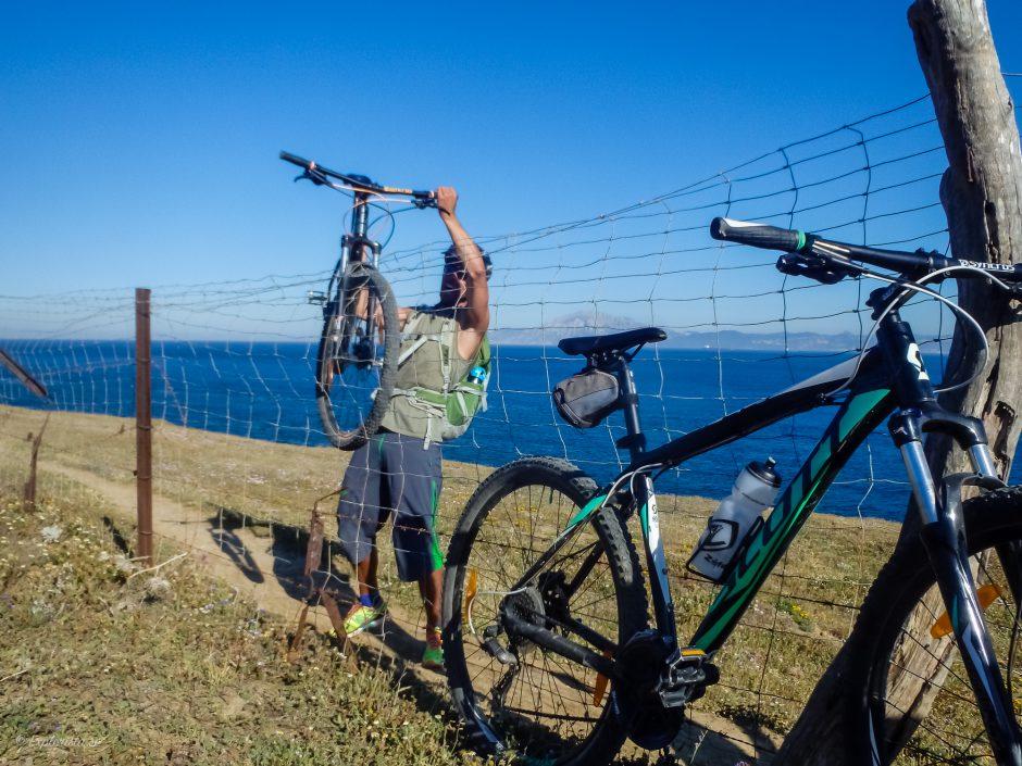 staket mountainbike