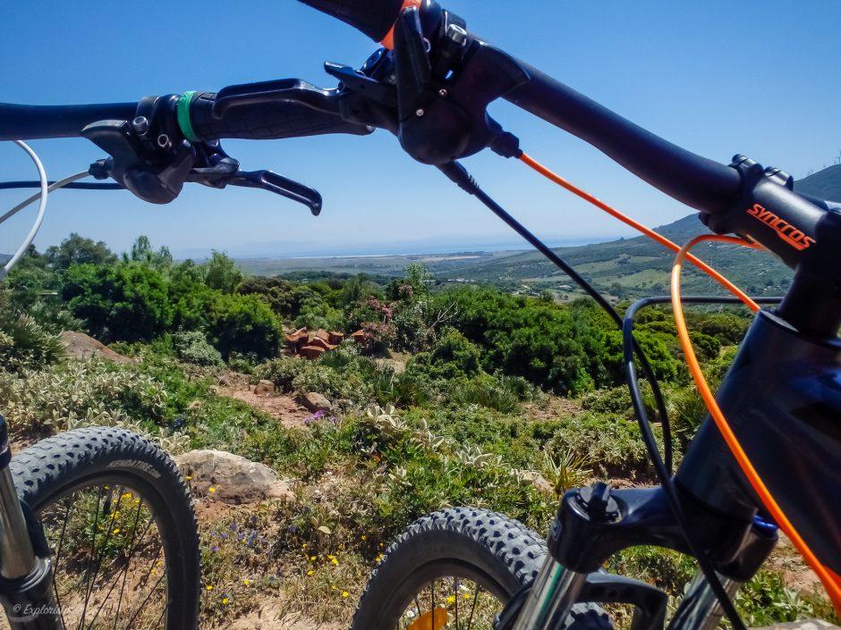 mountainbike utsikt
