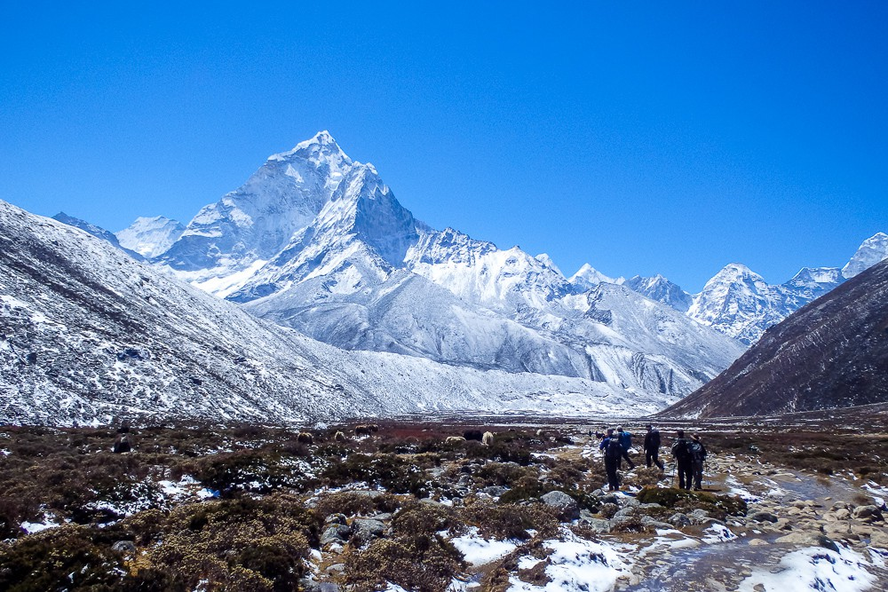 vandring everest base camp