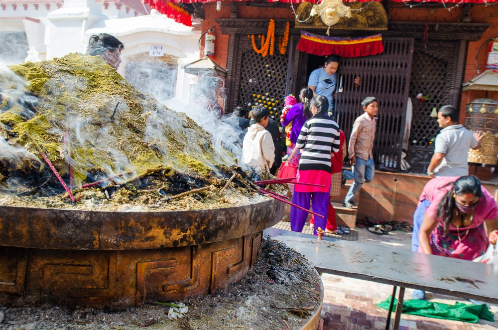 rökelse kathmandu nepal