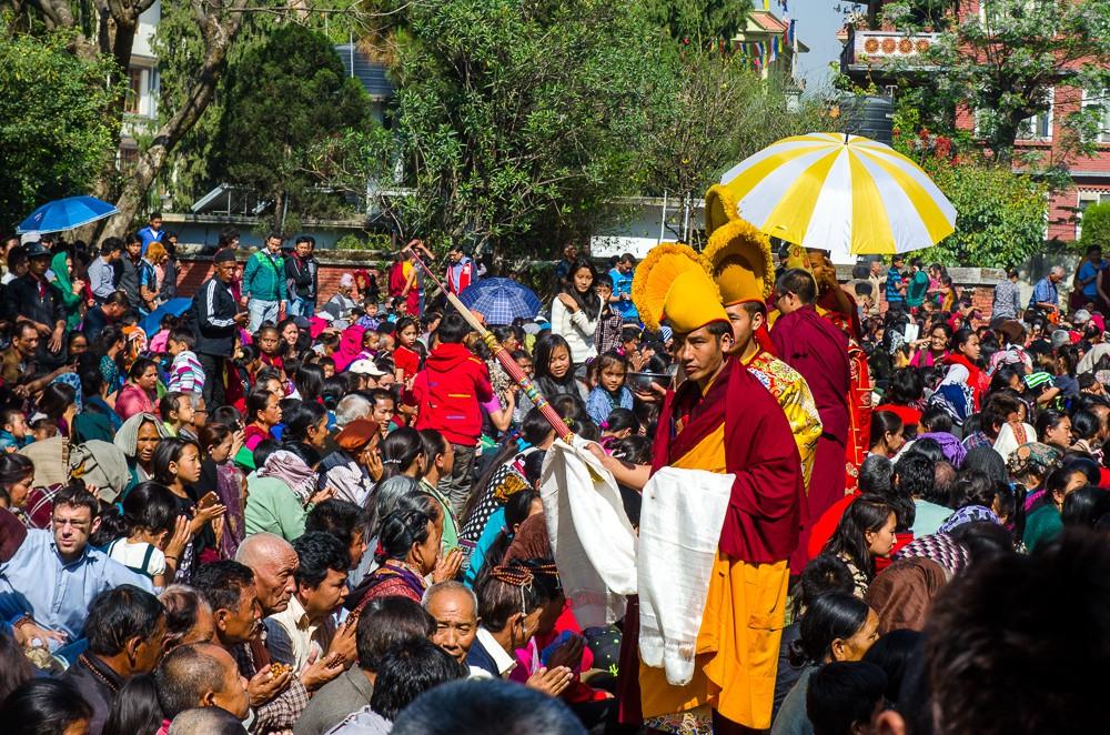 buddhister kathmandu nepal