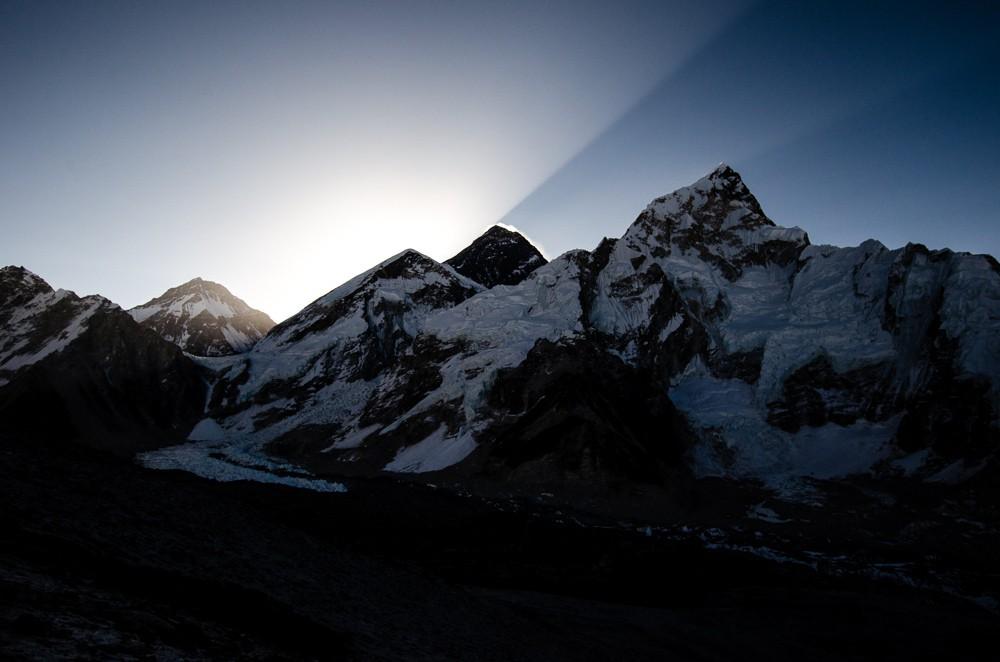 soluppgång mount everest