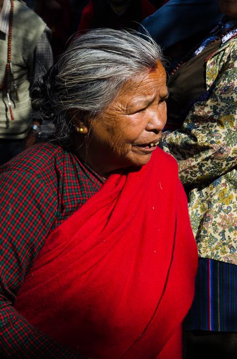 kvinna kathmandu nepal