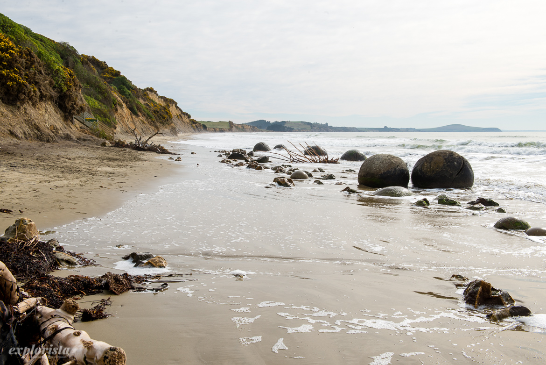 Moeraki boulders, Nya Zeeland