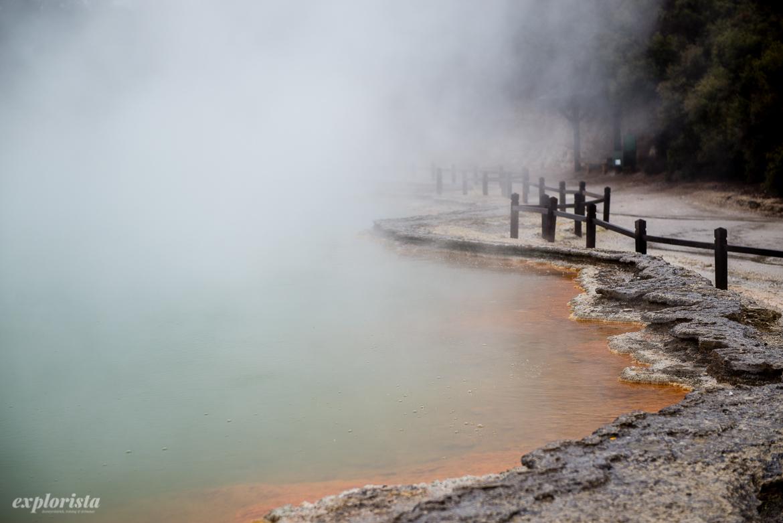 thermal wonderland, champagne pool med bubblande vatten