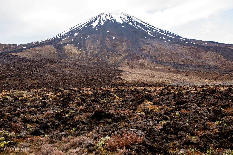 tongariro vulkan, mount doojm