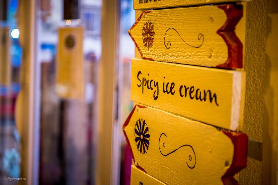 skylt spicy ice cream