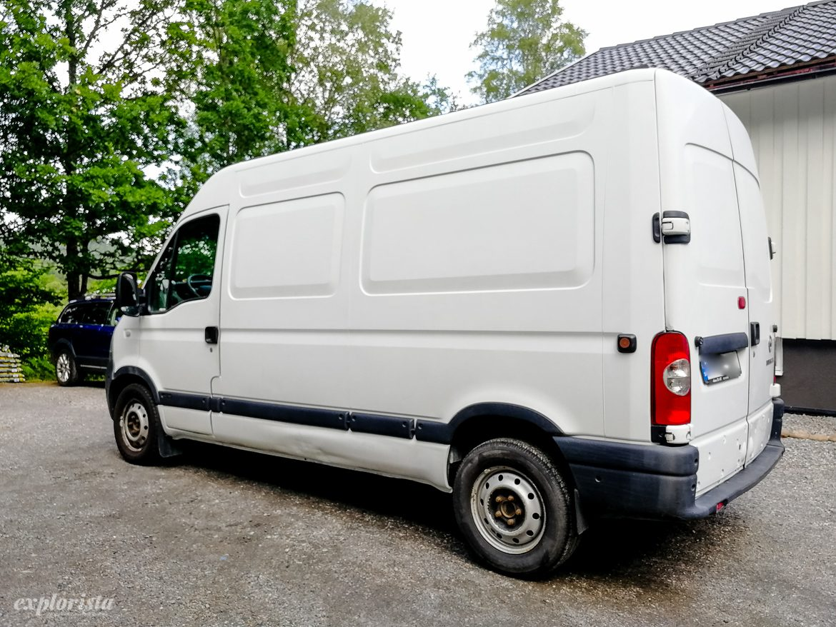 Nissan Interstar campervan