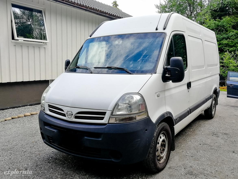 Nissan Interstar campervan