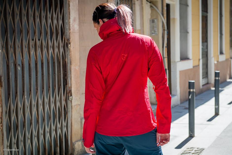 norröna bitihorn dri1 women´s jacket rebel red