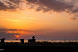 solnedgång ölandsbron