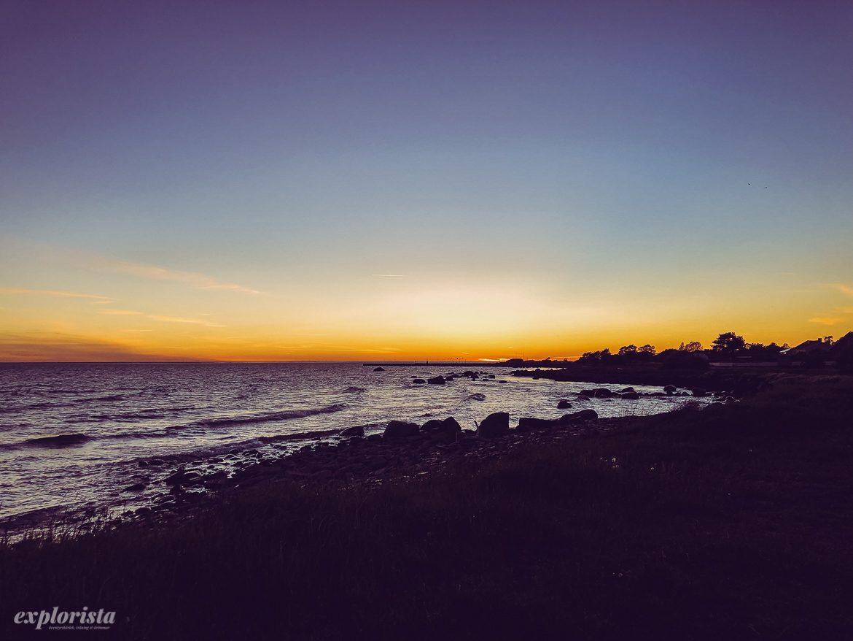 solnedgång på öland