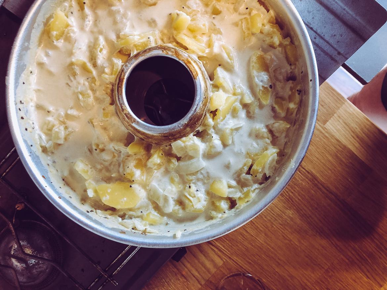 Potatisgratäng i omniaugn för vanlife