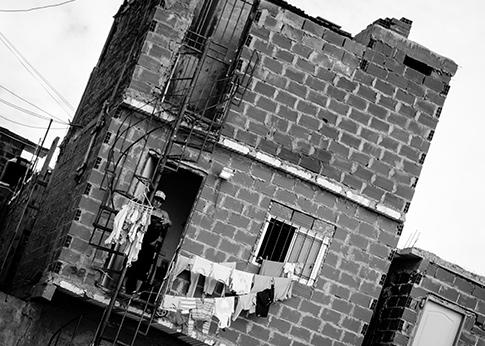 Tavla shantytown