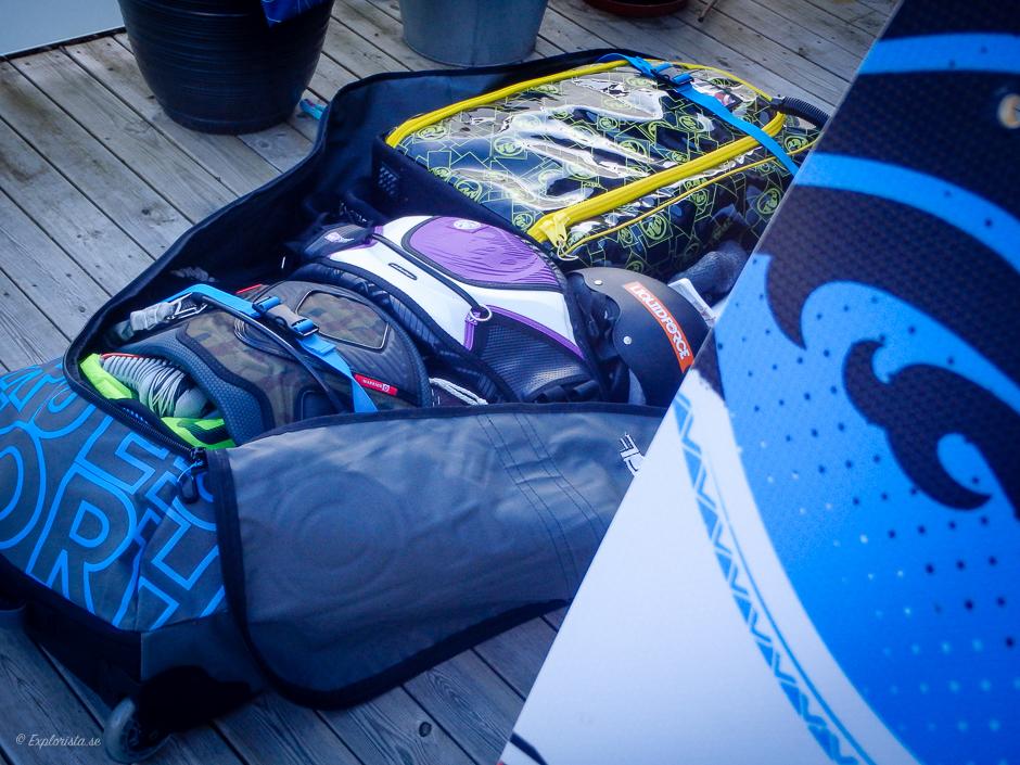 kitesurf packa resa