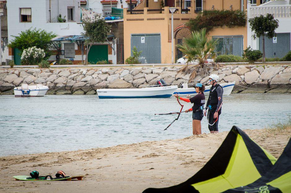 kitesurfelev och instruktör