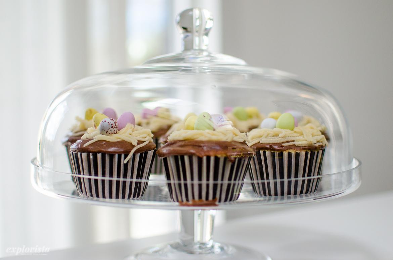 påskfika cupcakes