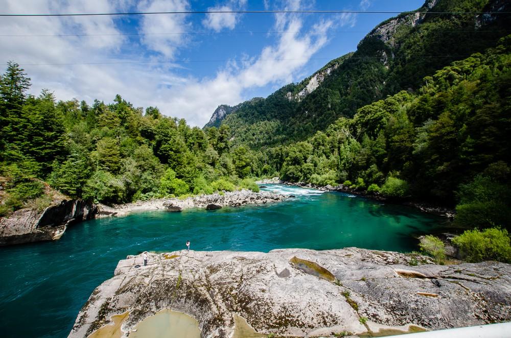 chile patagonien flod