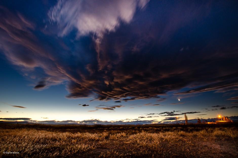 solnedgång bajo caracoles