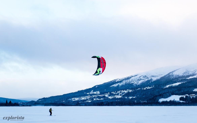 kite på åresjön