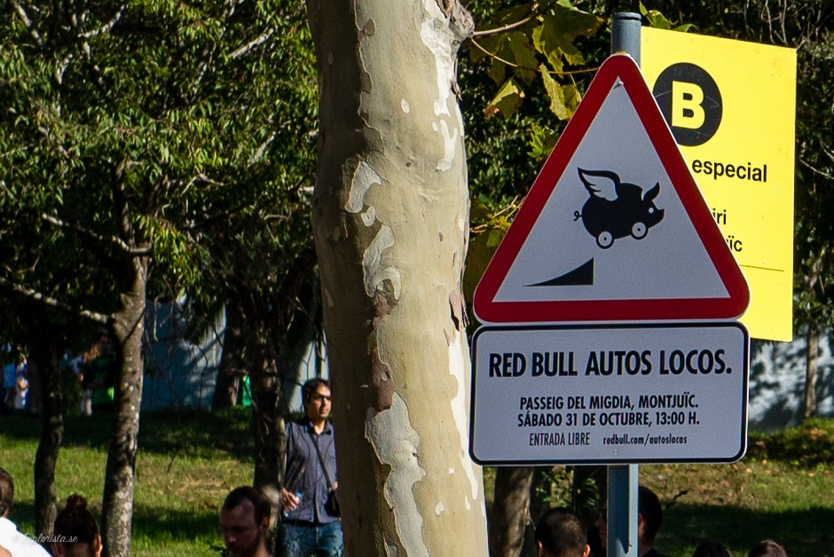skylt redbull autos locos