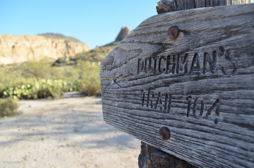 sign dutchmans trail
