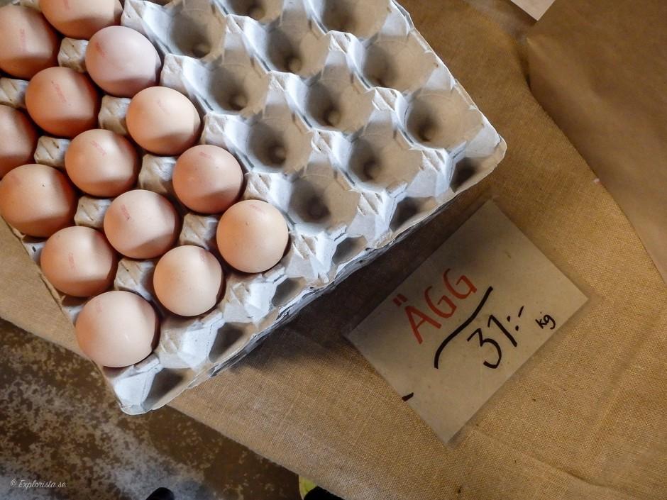 ekologiska ägg