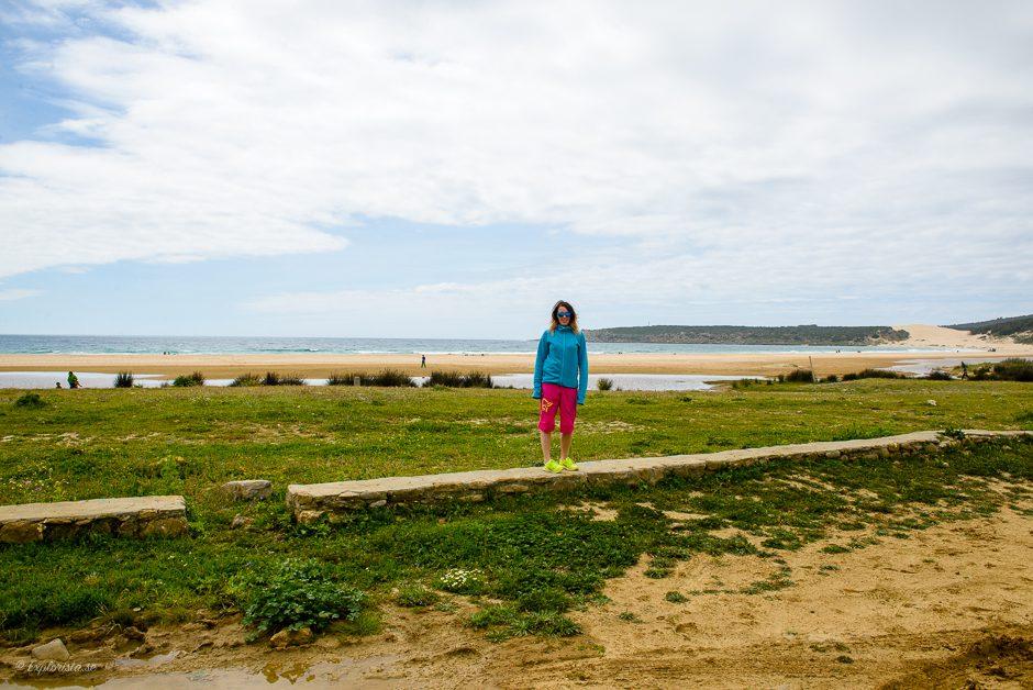 tjej strand