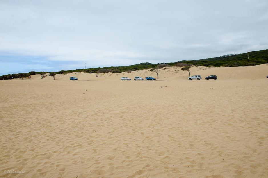 sand parkering