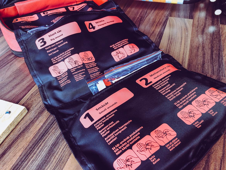 Första hjälpen-kit från Nexa