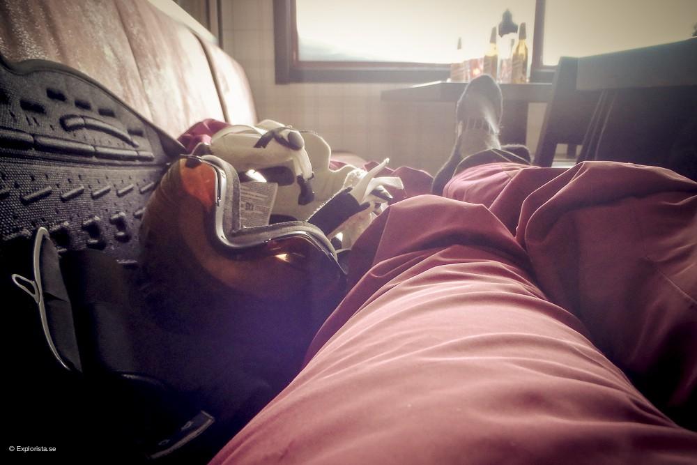 avslappning skidåkning