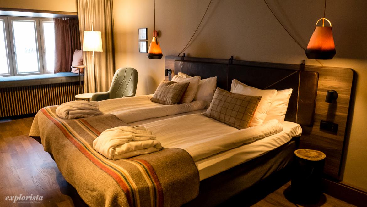 fint hotellrum