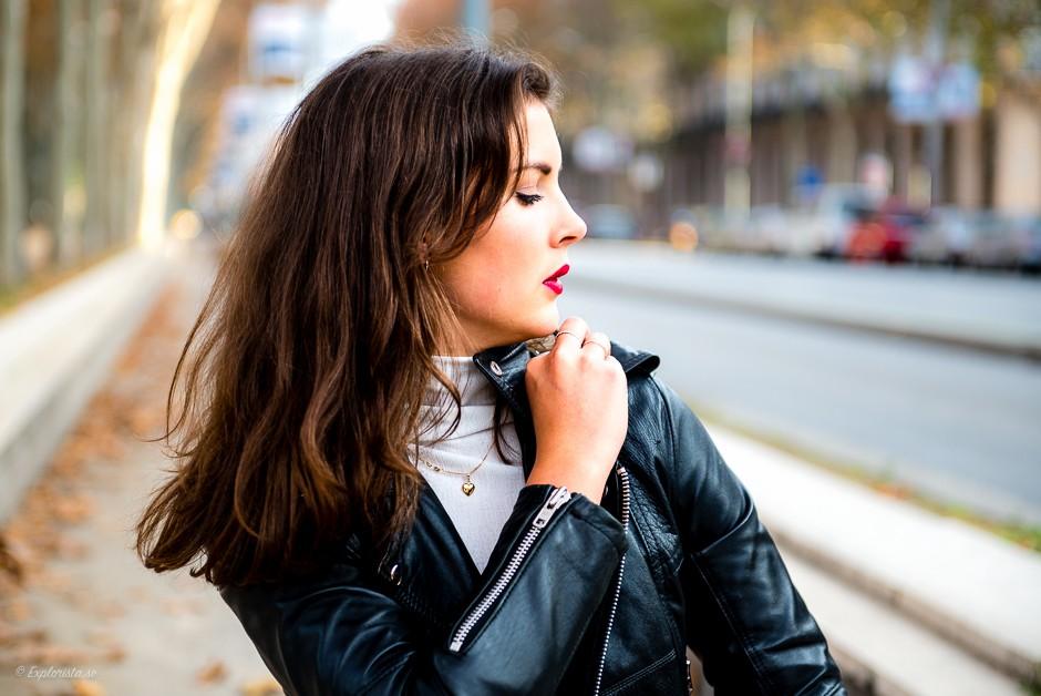 fashion shoot barcelona woman