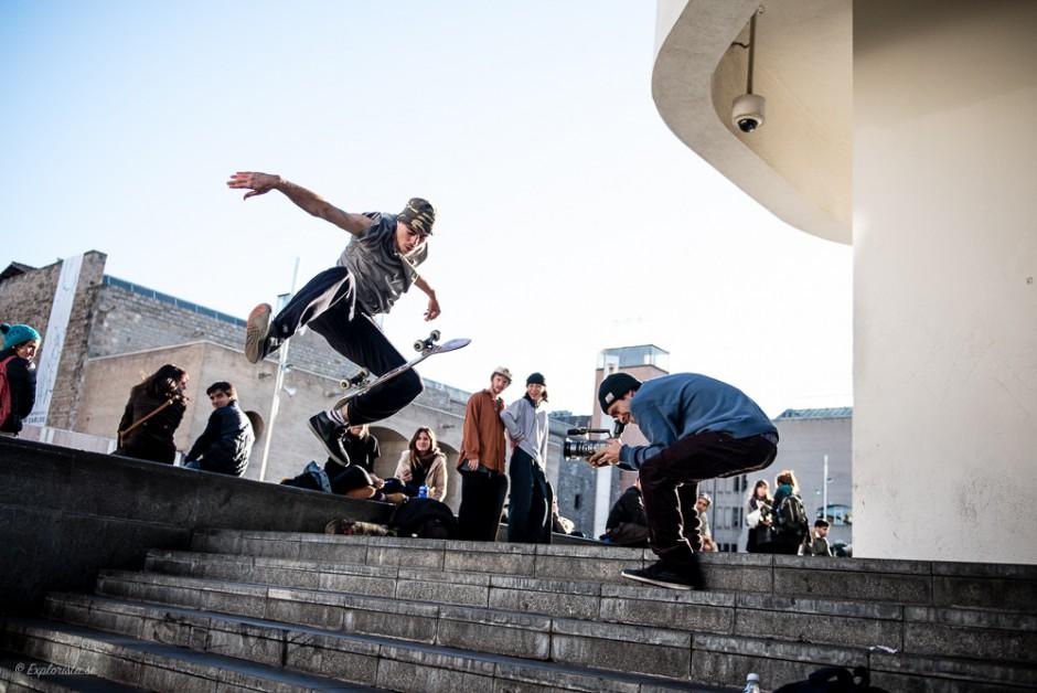 skateboardåkare macba filmning