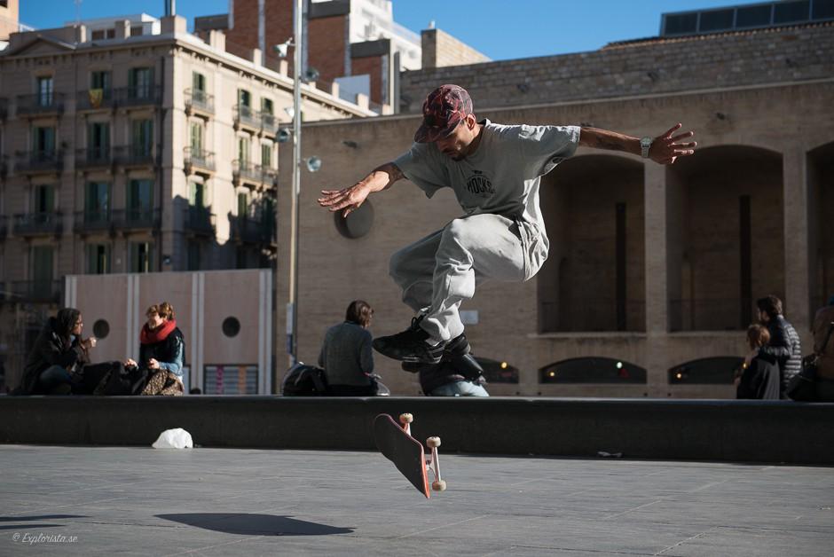 skateboardåkare obehandlad bild