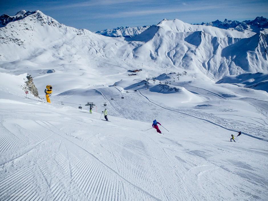 explorista skiing