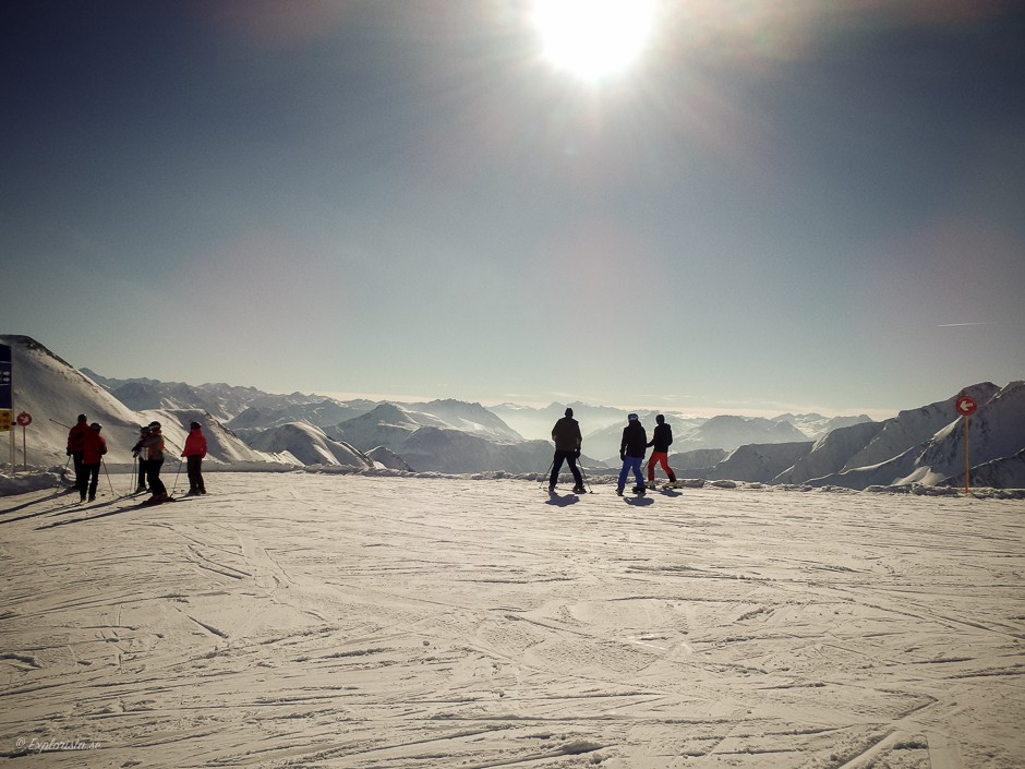 view alps sunny