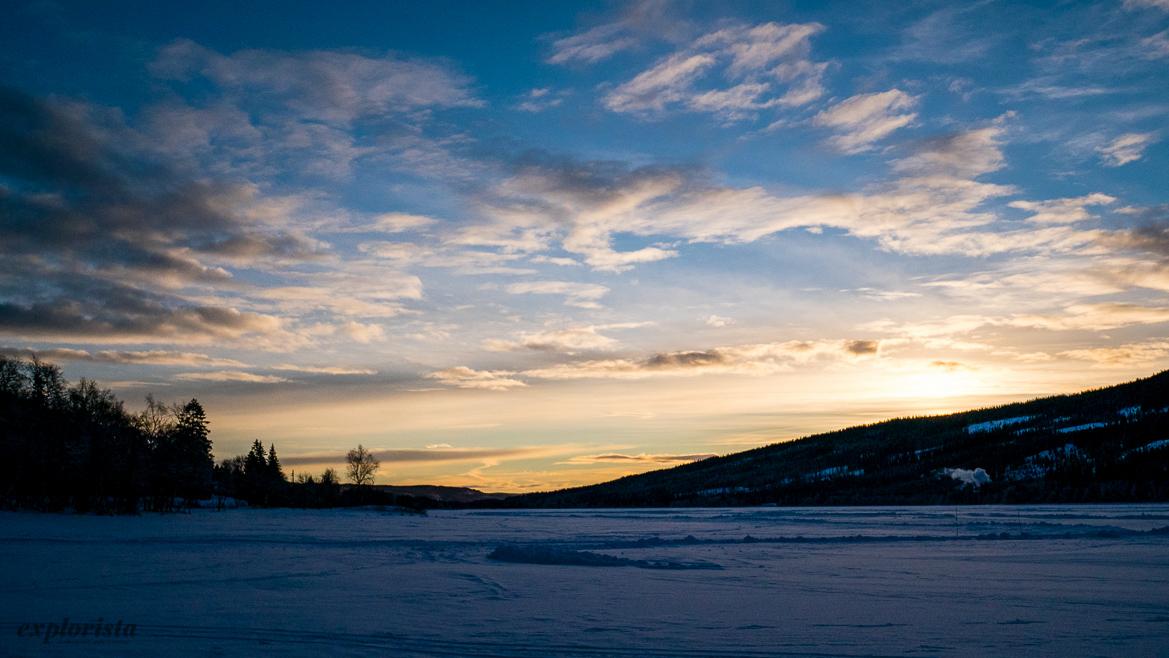 åresjön soluppgång