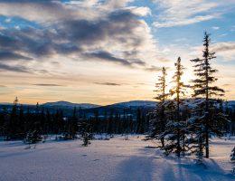 vacker vinter i åre