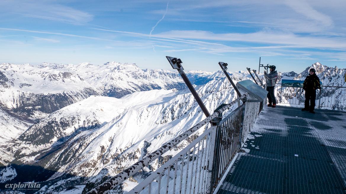 utsikt från toppen av les grands montets