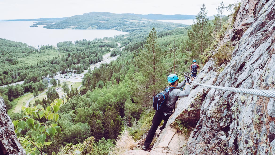 Via ferrata Skuleberget