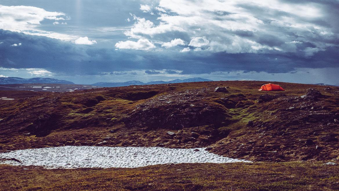 Tält Hilleberg Nallo 3GT på Jämtlandstriangeln